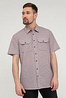 Рубашка мужская Finn Flare, цвет бордовый, размер 3XL