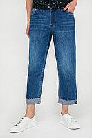 Бриджи джинсовые женские Finn Flare, цвет темно-синий, размер XS