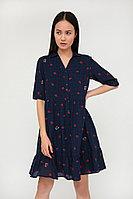 Платье женское Finn Flare, цвет темно-синий, размер XS