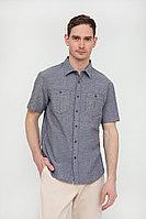 Рубашка мужская Finn Flare, цвет темно-синий, размер L