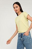 Футболка женская Finn Flare, цвет желтый, размер S