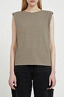 Майка женская Finn Flare, цвет светло-коричневый, размер XL
