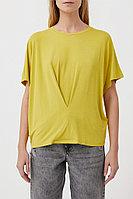 Футболка женская Finn Flare, цвет светло-зеленый, размер XS