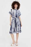 Платье из смесовой ткани Finn Flare, цвет темно-синий, размер 2XL