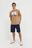 Шорты мужские Finn Flare, цвет темно-синий, размер XL