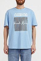 Футболка мужская Finn Flare, цвет голубой, размер M