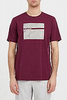 Футболка мужская Finn Flare, цвет бордовый, размер XL