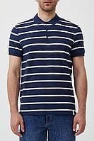 Поло мужское Finn Flare, цвет темно-синий, размер S