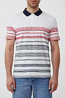 Поло мужское Finn Flare, цвет белый, размер L