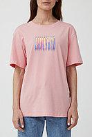 Футболка женская Finn Flare, цвет светло-розовый, размер L