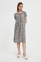 Свободное платье с цветочным принтом Finn Flare, цвет светло-коричневый, размер M