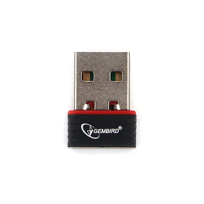 Wi-Fi адаптер Gembird WNP-UA-007, черный