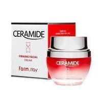 Крем укрепляющий для всех типов кожи FarmStay CERAMIDE 50 мл