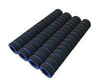 Ручки для турника (грипсы) черно-синие, 4 шт.