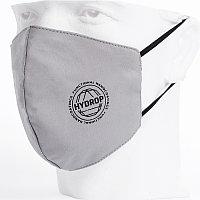 Бесклапанная фильтрующая маска RESPIRATOR 800 HYDROP серая с логотипом в фирменном пакете, Серый, -, 80000 30