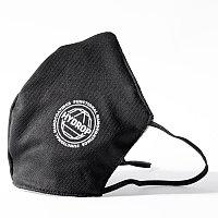 Бесклапанная фильтрующая маска RESPIRATOR 800 HYDROP черная с логотипом в фирменном пакете, Черный, -, 80000