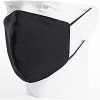 Бесклапанная фильтрующая маска RESPIRATOR 800 HYDROP черная без логотипа в черном пакете, Черный, -, 80000 35