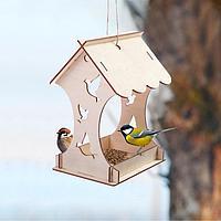 Кормушка для птиц 'Птички', 15 x 16 x 24 см, Greengo