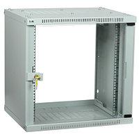 ITK LINEA WE 12U 600х600 мм дверь стекло серый серверный шкаф (LWE3-12U66-GF)