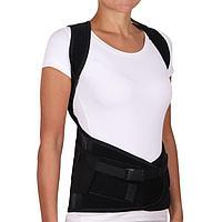 Корсет ортопедический грудопоясничный - 'Крейт' (1, Р1, черный) Б-506