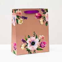 Пакет подарочный 'Букет нежности', 26 х 32 х 12 см (комплект из 6 шт.)
