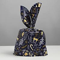 Мешок подарочный 'Новогодний', 21 x 33 см (комплект из 20 шт.)