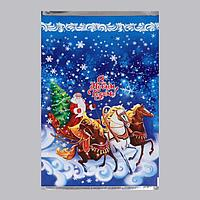 Пакет подарочный 'Новогодние шары', 25 х 40 см (комплект из 100 шт.)