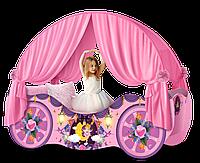 """Карета кровать для девочек """"Принцесса"""""""