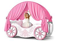 """Карета кровать для девочек """"Винтаж"""""""