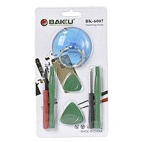 Набор инструментов Baku BK-6007-C (2 лопатки,2 отвертки,2 медиатора,присоска)