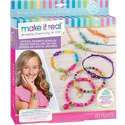 Набор для творчества Make It Real Набор для создания украшений Crystal Rainbow Jewelry