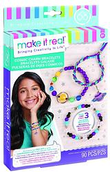 Набор для творчества Make It Real Браслеты с бусинами Galaxy Jewelry / Звездная пыль
