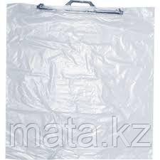 Упаковка, пакет прозрачный с ручкой  70х75 для текстиля, одеял и подушек, фото 2