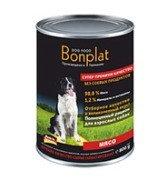 Bonplat meat assortment мясо, влажный корм для собак всех пород