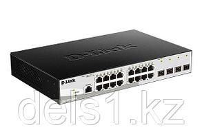 Управляемый  коммутатор  D-link DGS-1210-20/ME
