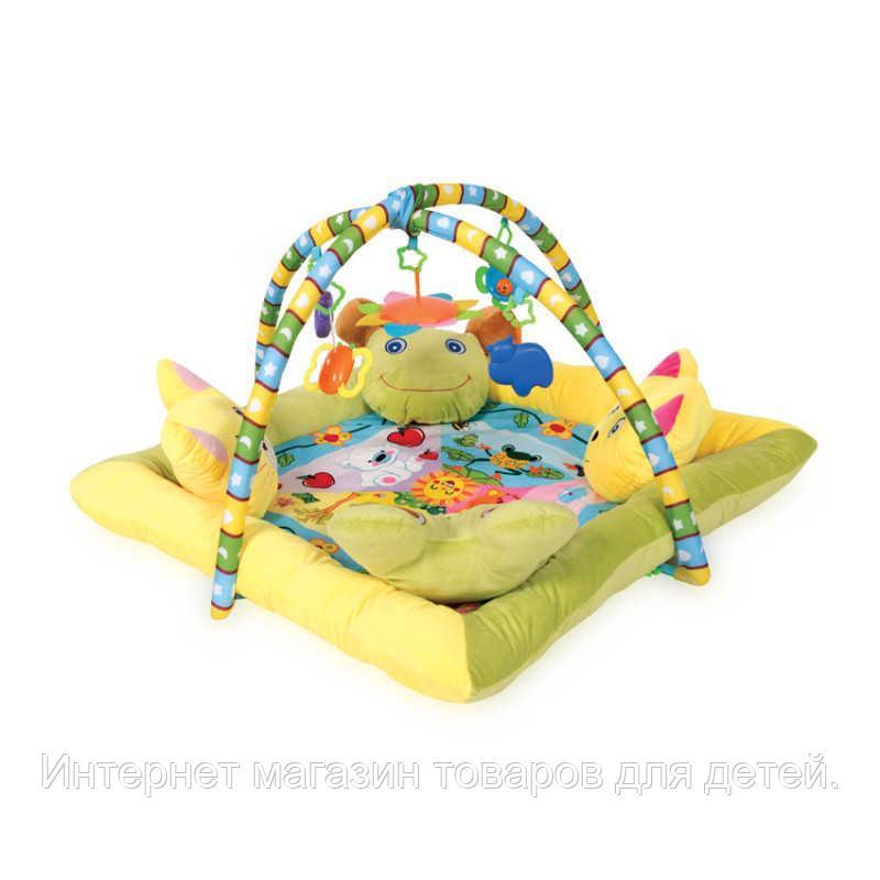 Игровой коврик с 4-мя подушечками Lorelli toys