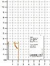 Серьги TEOSA серебро с позолотой, фианит 30227-0911-CZ, фото 2