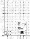Серьги TEOSA серебро с родием, фианит синт., с английским замком, дорожка 10220-0637-CZ, фото 2