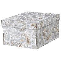 Коробка с крышкой IKEA СМЕКА, 26x32x17см