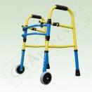 Ходунки на колесиках детские складные Арт.ХД-2С