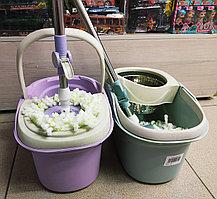 Набор для уборки 360 (швабра,ведро со стальной центрифугой)