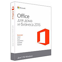 MS Office Home and Business 2016 32-bit/x64 Russian Kazakhstan Only DVD P2, T5D-02704