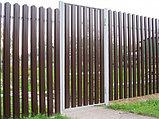 Забор из евроштакетника, фото 5