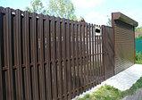 Забор из евроштакетника, фото 2