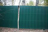 Забор из евроштакетника, фото 6