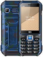 Мобильный телефон BQ 2824 Tank T Camouflage Blue /