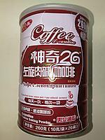 Чудо 26 кофе с левокарнитином для похудения, банка 26 пакетиков