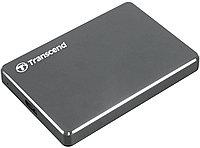 "Внешний HDD 2.5"" 2Tb Transcend StoreJet 25C3, TS2TSJ25C3N, USB3.1, metallic"