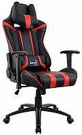 Игровое компьютерное кресло Aerocool AC120 AIR-BR, Black/Red