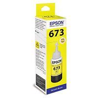 Чернила Epson C13T67344A L800, Yellow